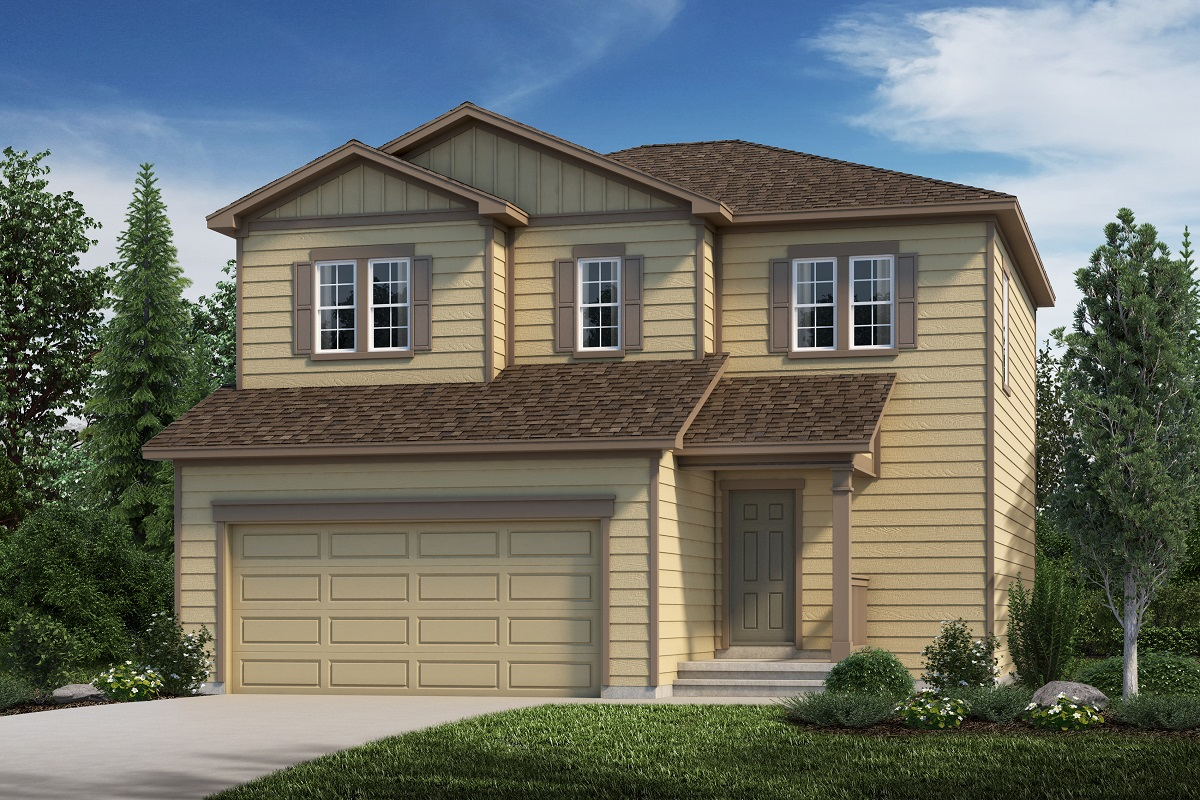 New Homes in Aurora, CO - Plan 1624 Elevation A
