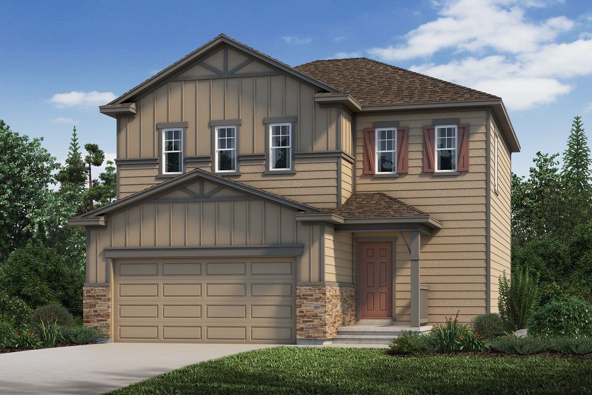 New Homes in Aurora, CO - Plan 1624 Elevation B
