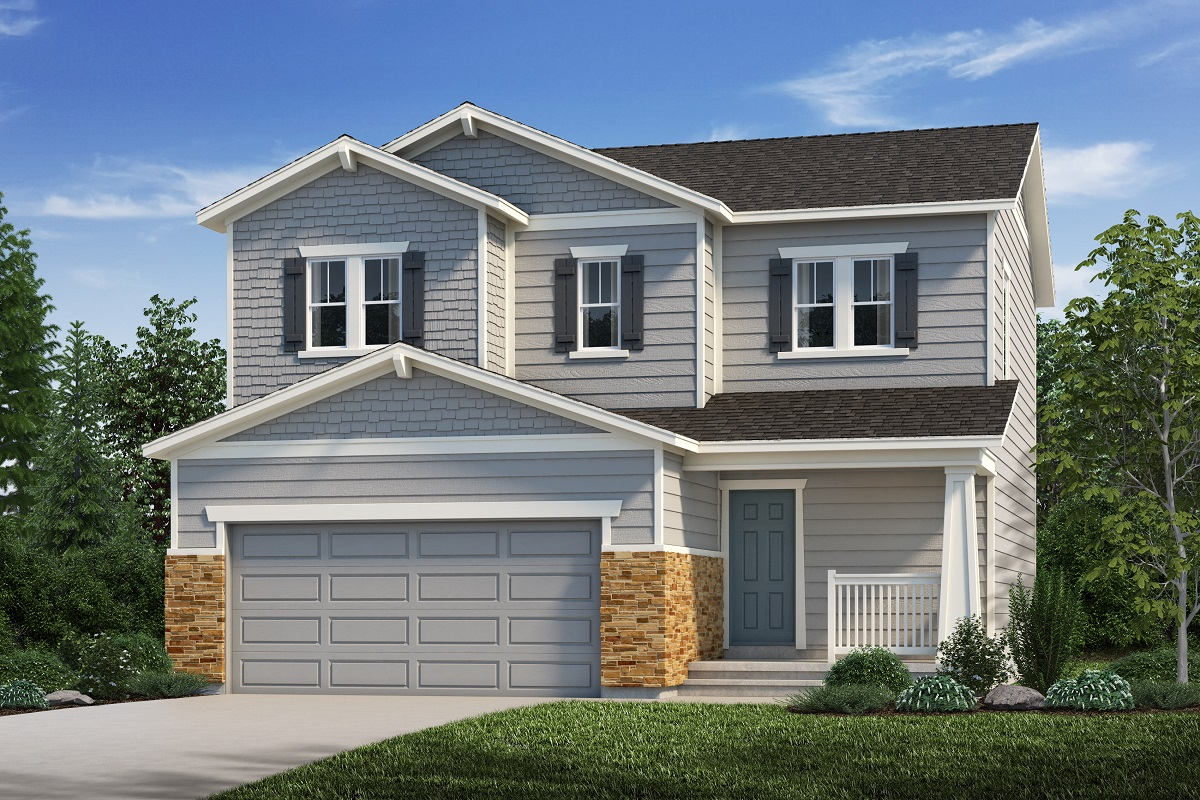 New Homes in Aurora, CO - Plan 1624 Elevation C