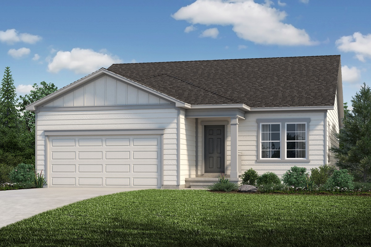 New Homes in Aurora, CO - Sky Ranch Plan 1685 Elevation A
