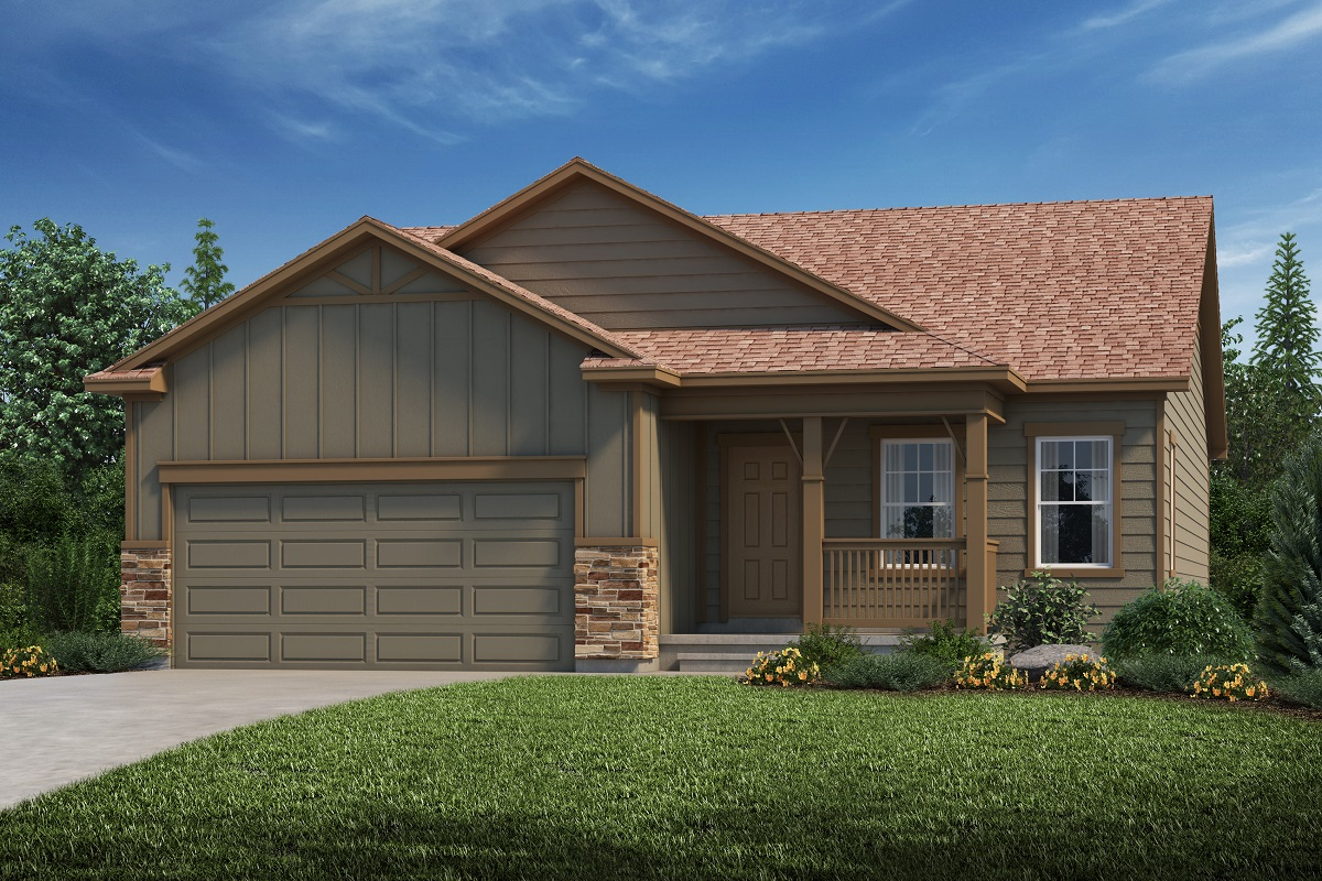 New Homes in Aurora, CO - Plan 1685 Elevation B