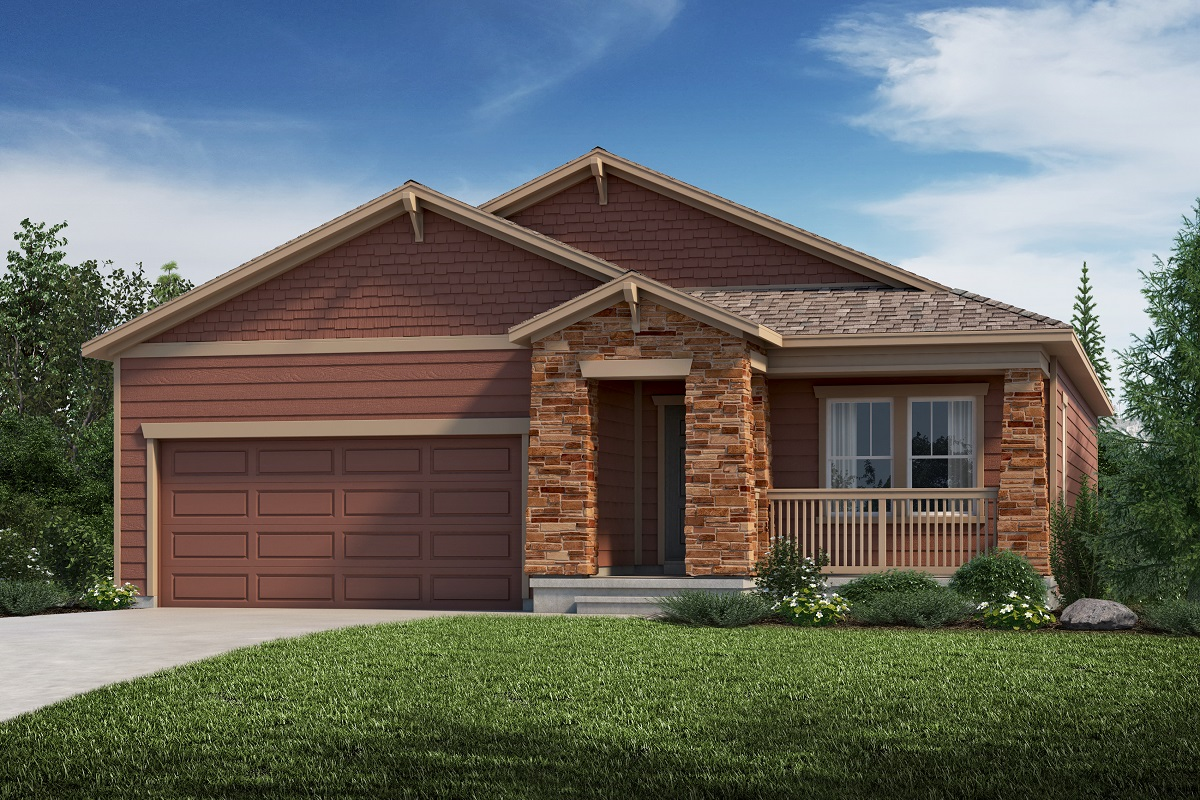 New Homes in Aurora, CO - Plan 1685 Elevation C