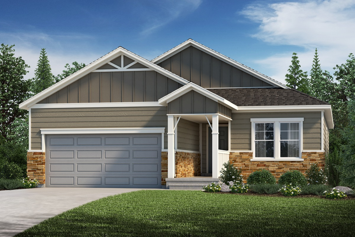 New Homes in Aurora, CO - Plan 1821 Elevation B