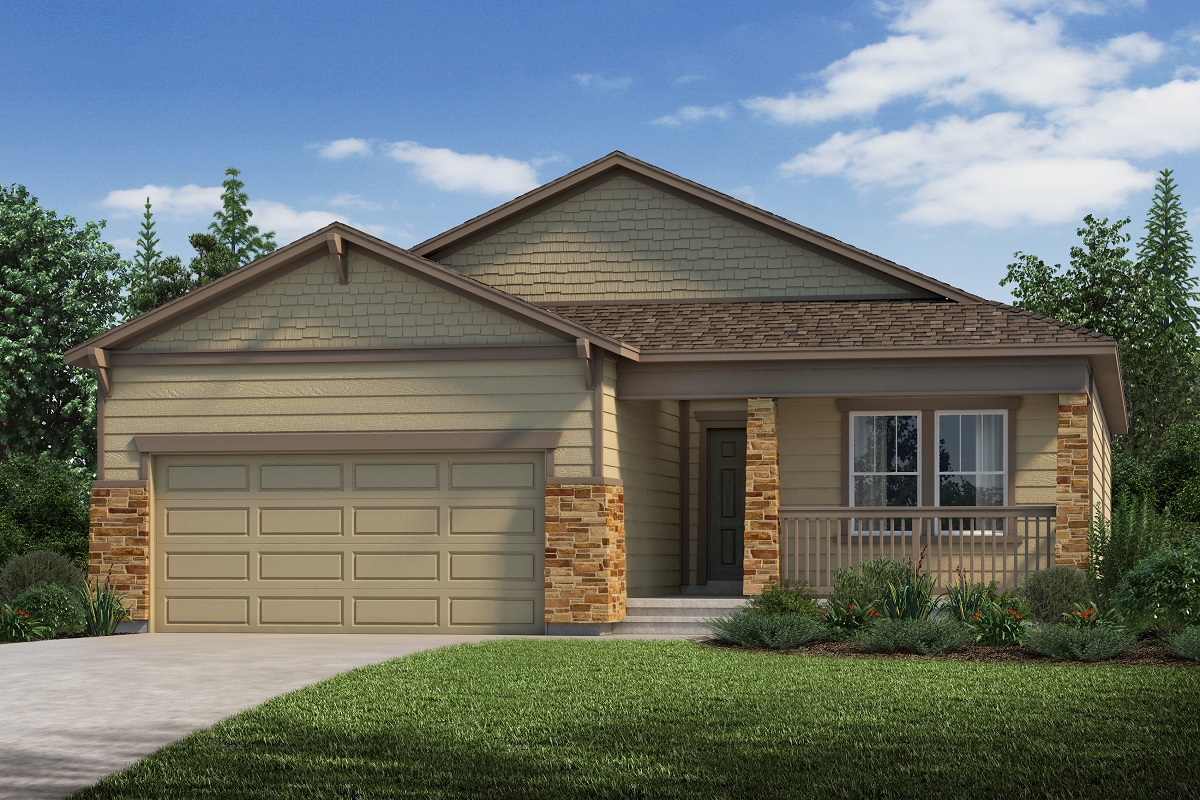 New Homes in Aurora, CO - Plan 1821 Elevation C