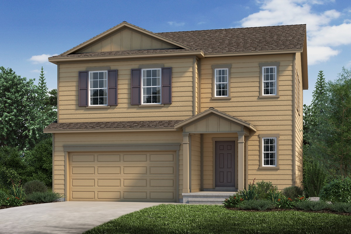 New Homes in Aurora, CO - Plan 1923 Elevation A