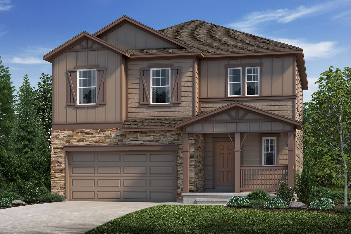New Homes in Aurora, CO - Plan 1923 Elevation B