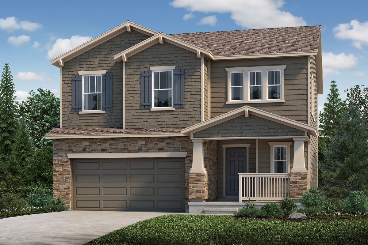 New Homes in Aurora, CO - Sky Ranch Plan 1923 Elevation C