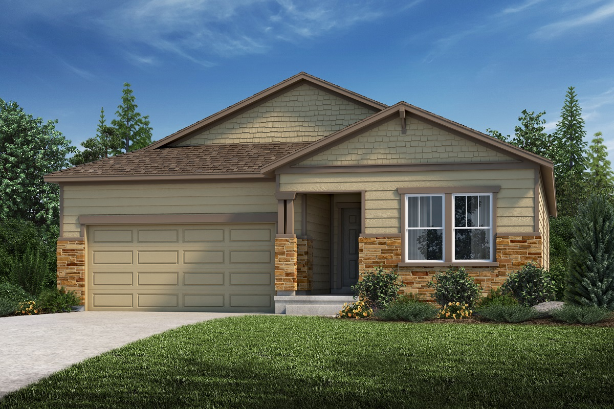 New Homes in Aurora, CO - Hawthorn