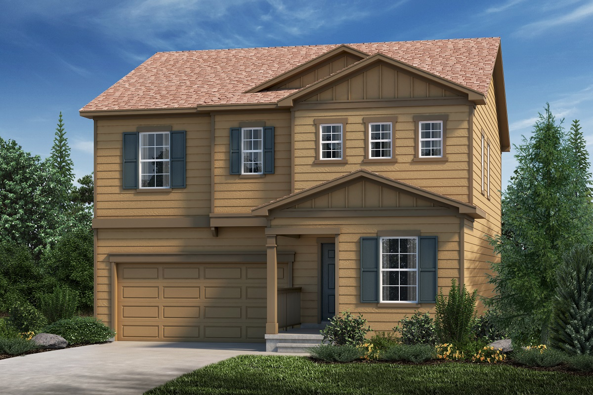 New Homes in Aurora, CO - Plan 2282 Elevation A