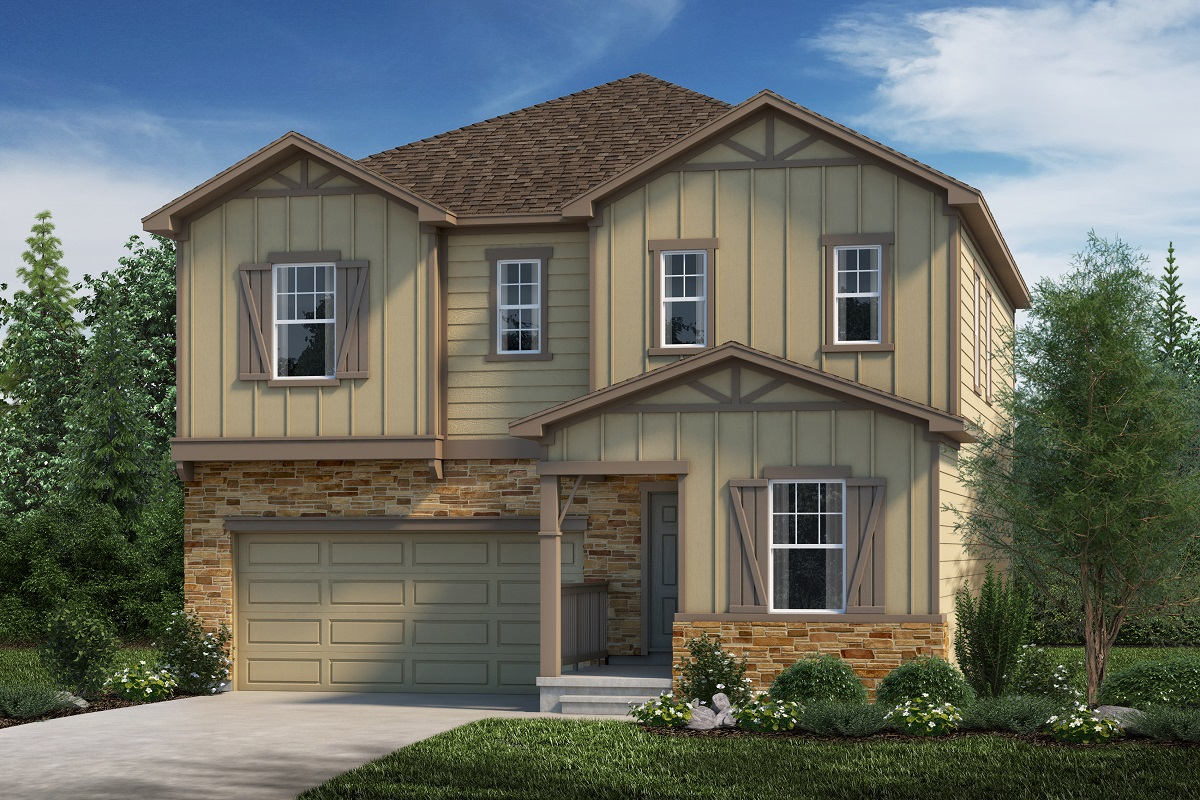 New Homes in Aurora, CO - Plan 2282 Elevation B