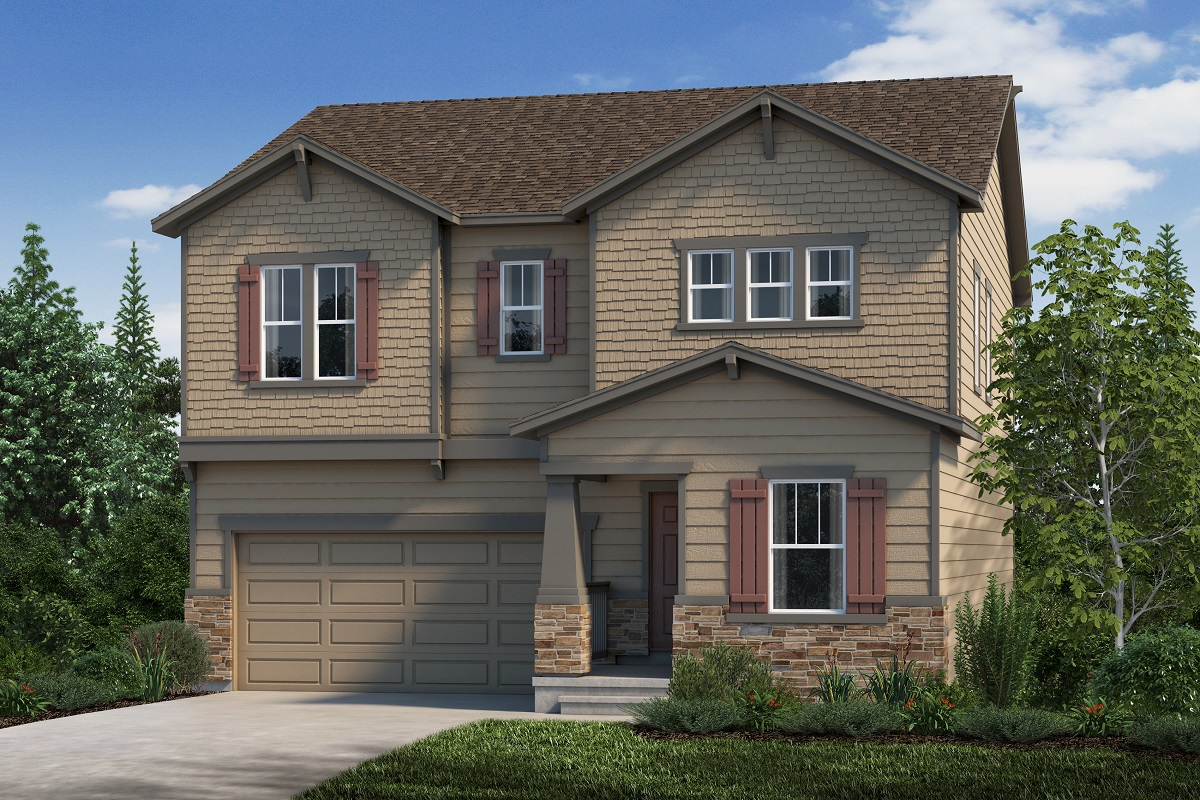 New Homes in Aurora, CO - Plan 2282 Elevation C