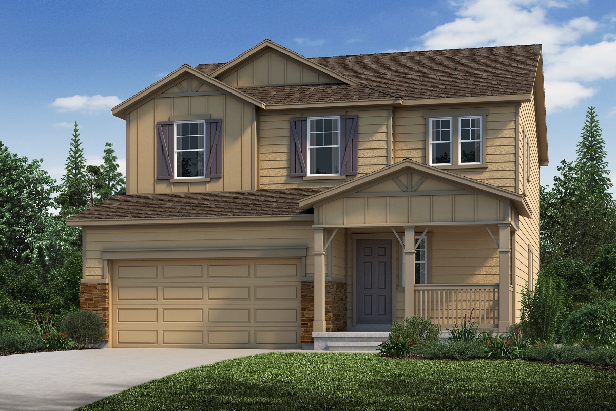 New Homes in Aurora, CO - Sky Ranch Plan 2583 Elevation B
