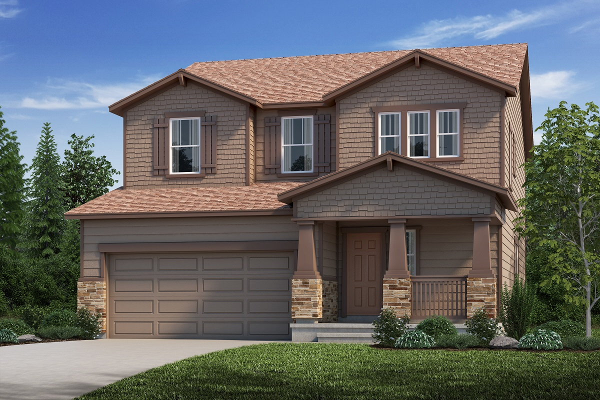 New Homes in Aurora, CO - Elevation C