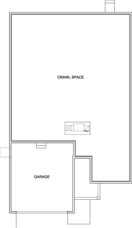New Homes in Aurora, CO - Chaucer, Crawl Space
