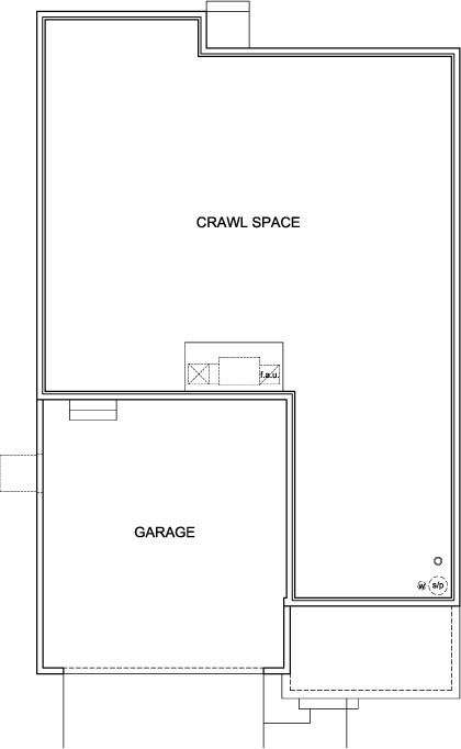 New Homes in Aurora, CO - Plan 2583, Crawl Space