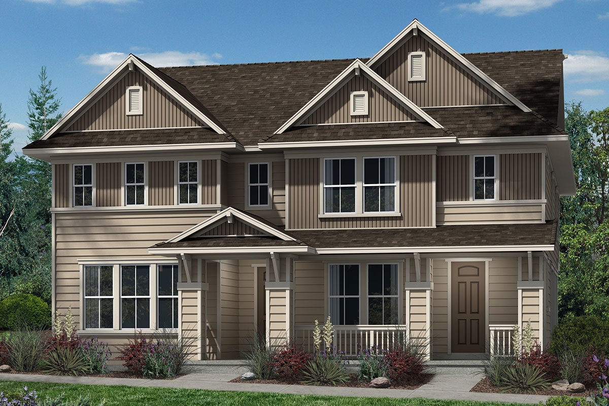 New Homes in Denver, CO - Plan 1574 & Plan 1507 - Elevation B