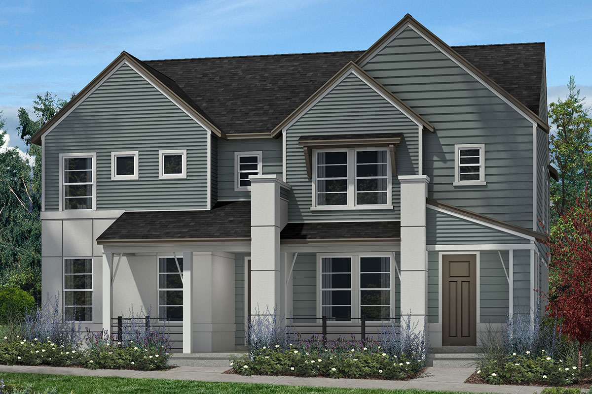 New Homes in Denver, CO - Plan 1574 & Plan 1507  - Elevation C