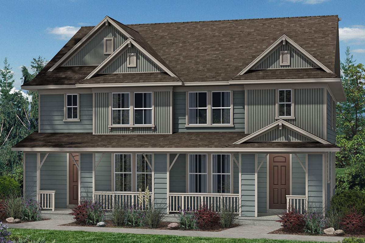 New Homes in Denver, CO - Plan 1574 & Plan 1574 - Elevation B