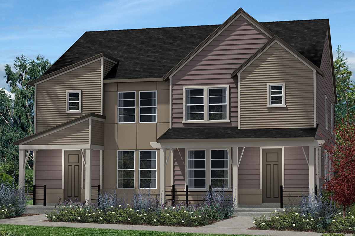 New Homes in Denver, CO - Plan 1574 & Plan 1574 - Elevation C