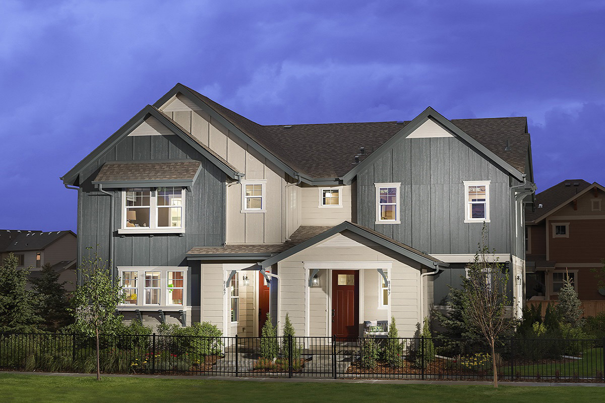 New Homes in Denver, CO - Central Park - Villa Collection Plan 1507 & Plan 1299