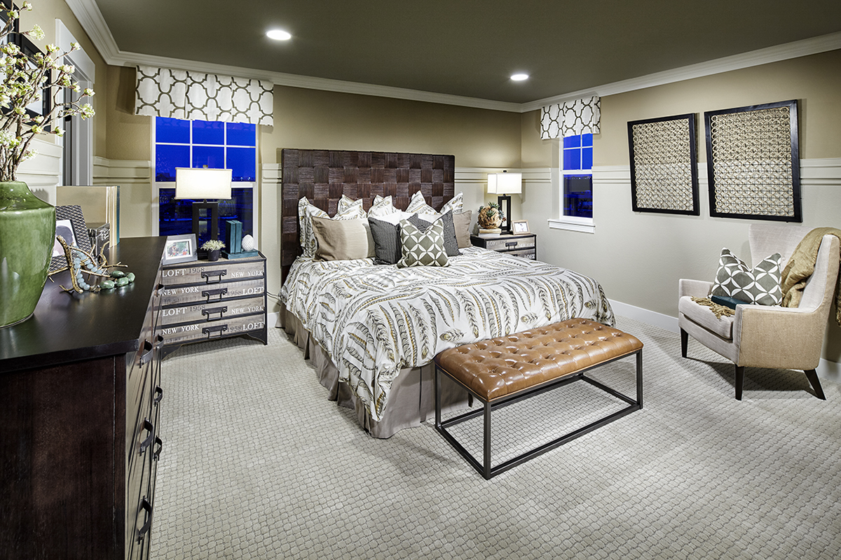 New Homes in Denver, CO - Central Park - Villa Collection Plan 1299 Master Bedroom