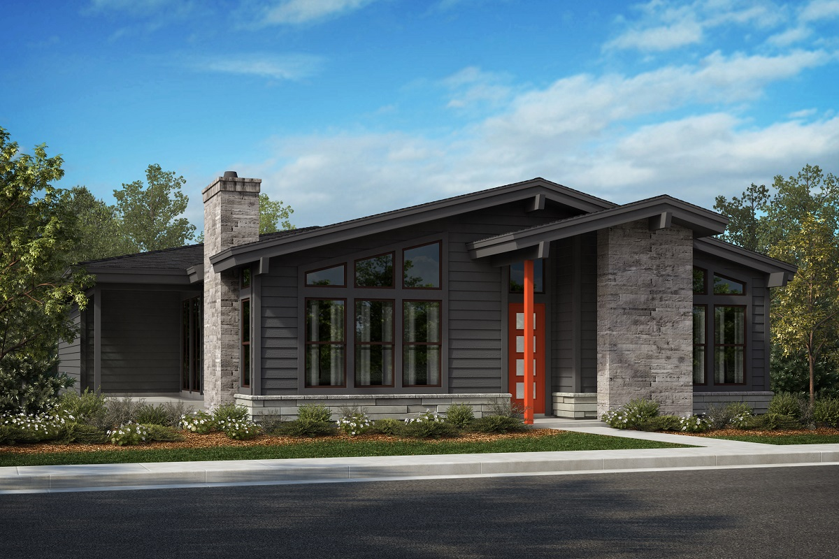 New Homes in Denver, CO - Elevation A - Scheme 12