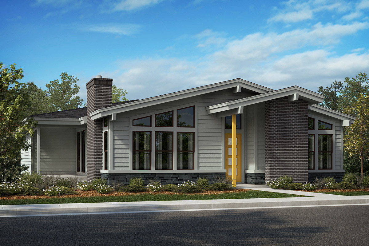 New Homes in Denver, CO - Elevation A - Scheme 5
