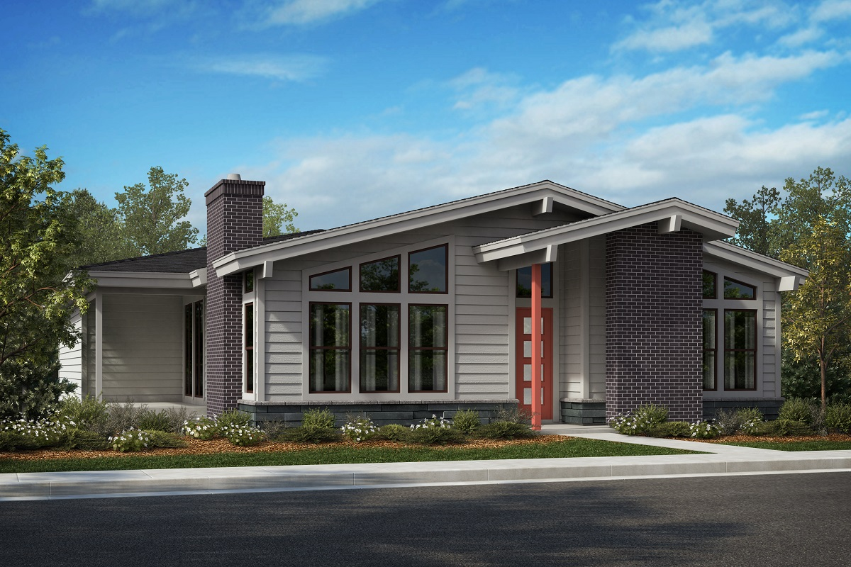 New Homes in Denver, CO - Elevation A - Scheme 8