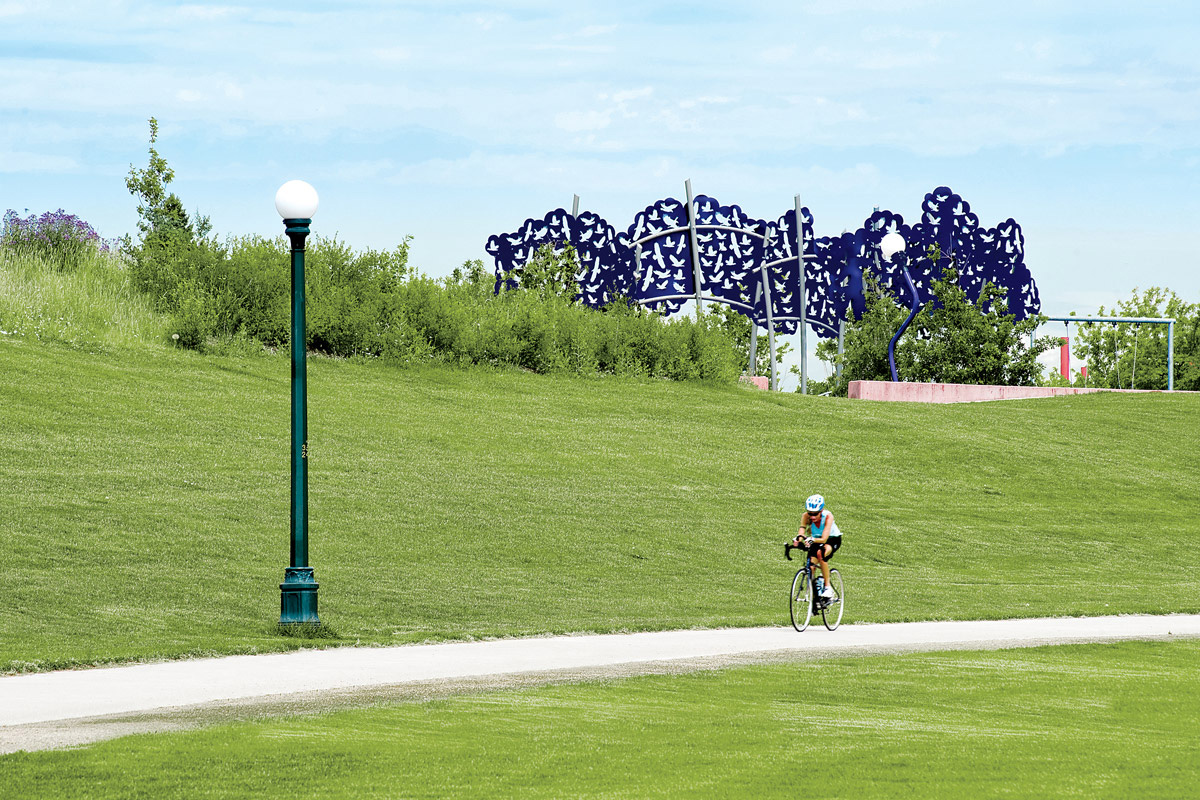 New Homes in Denver, CO - Central Park -  Starlight Collection Miles of biking, running and walking trails