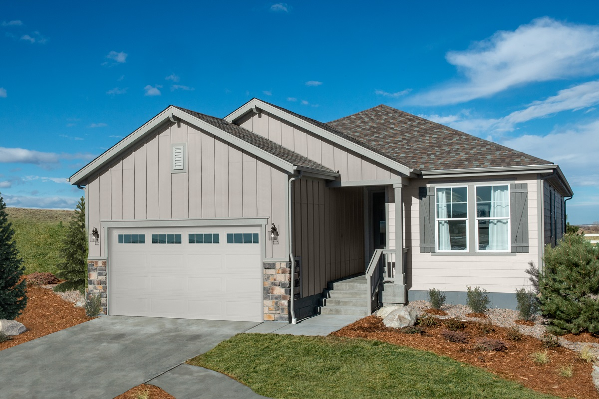 KB model home in Parker, CO