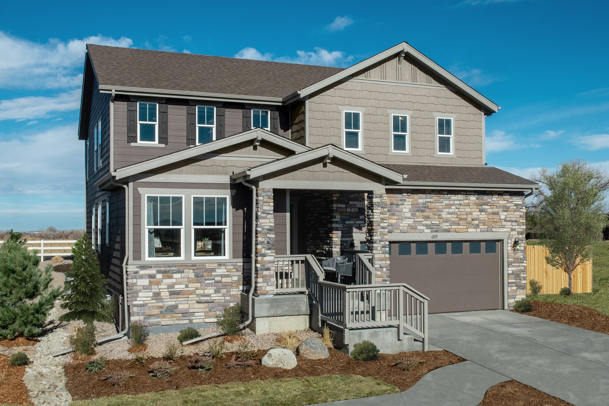 New Homes in Parker, CO - Stone Creek Ranch Plan 2390 Modeled
