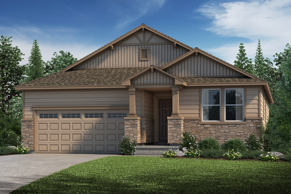 New Homes in Parker, CO - Plan 1590 Elevation B