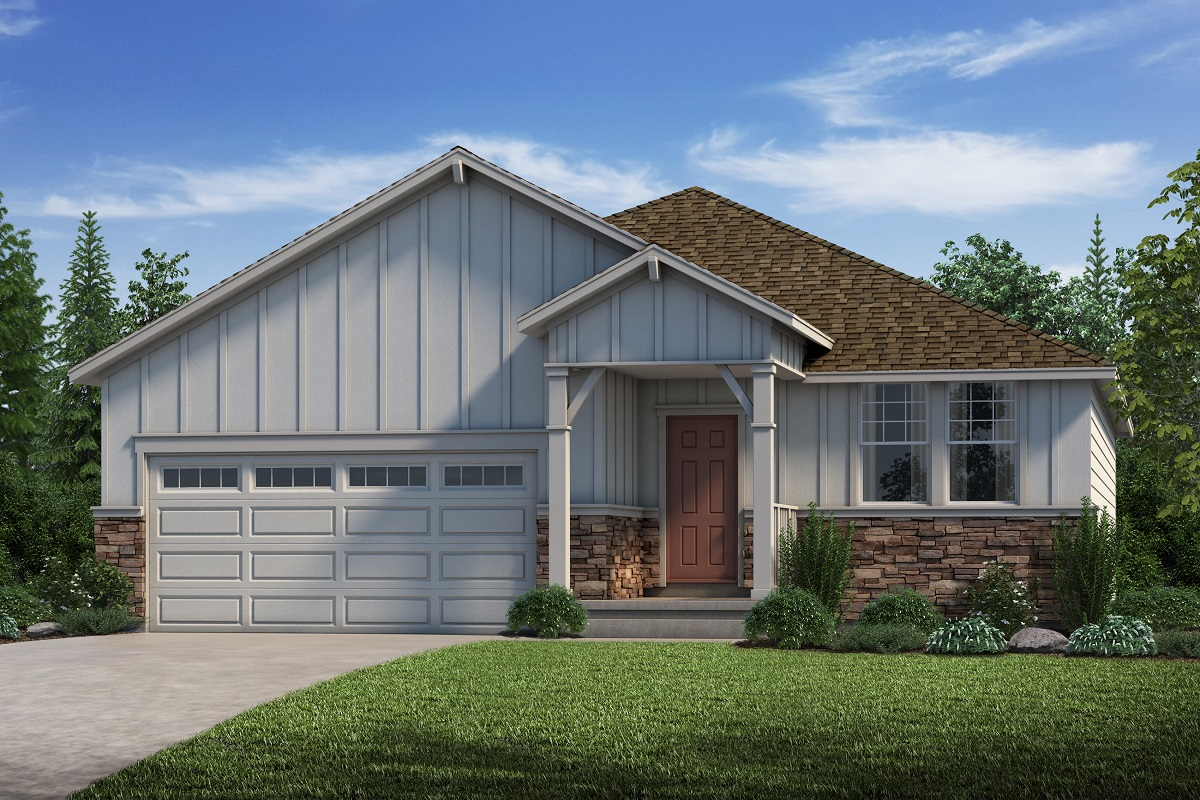 New Homes in Parker, CO - Cottonwood - Elevation A