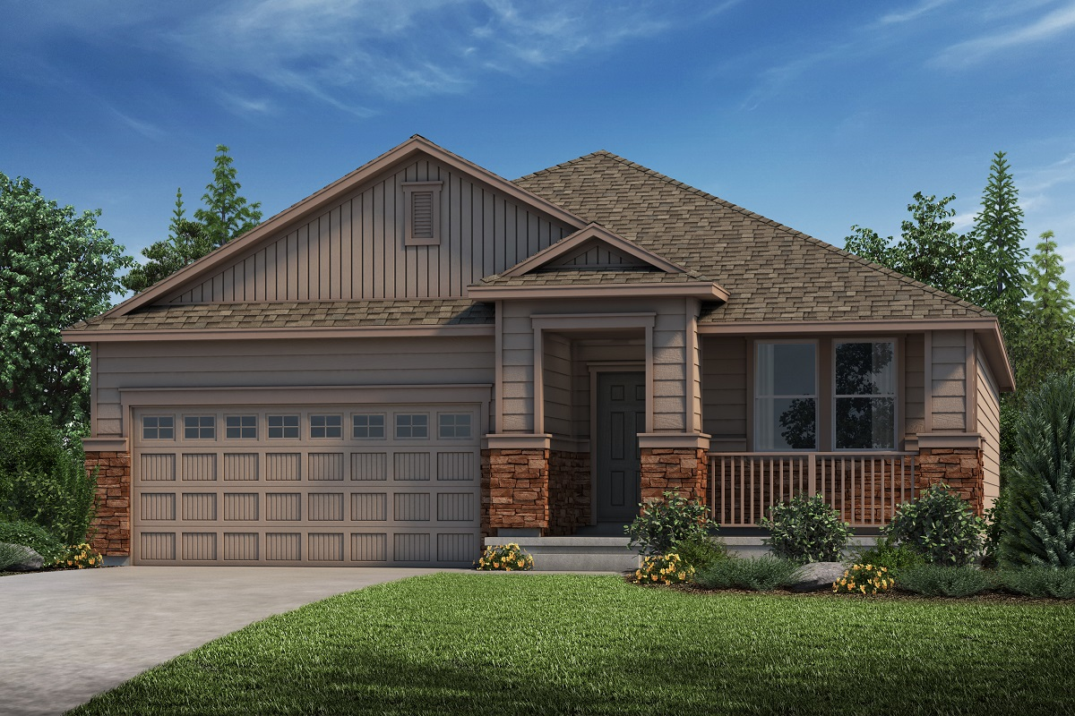 New Homes in Parker, CO - Cottonwood - Elevation C