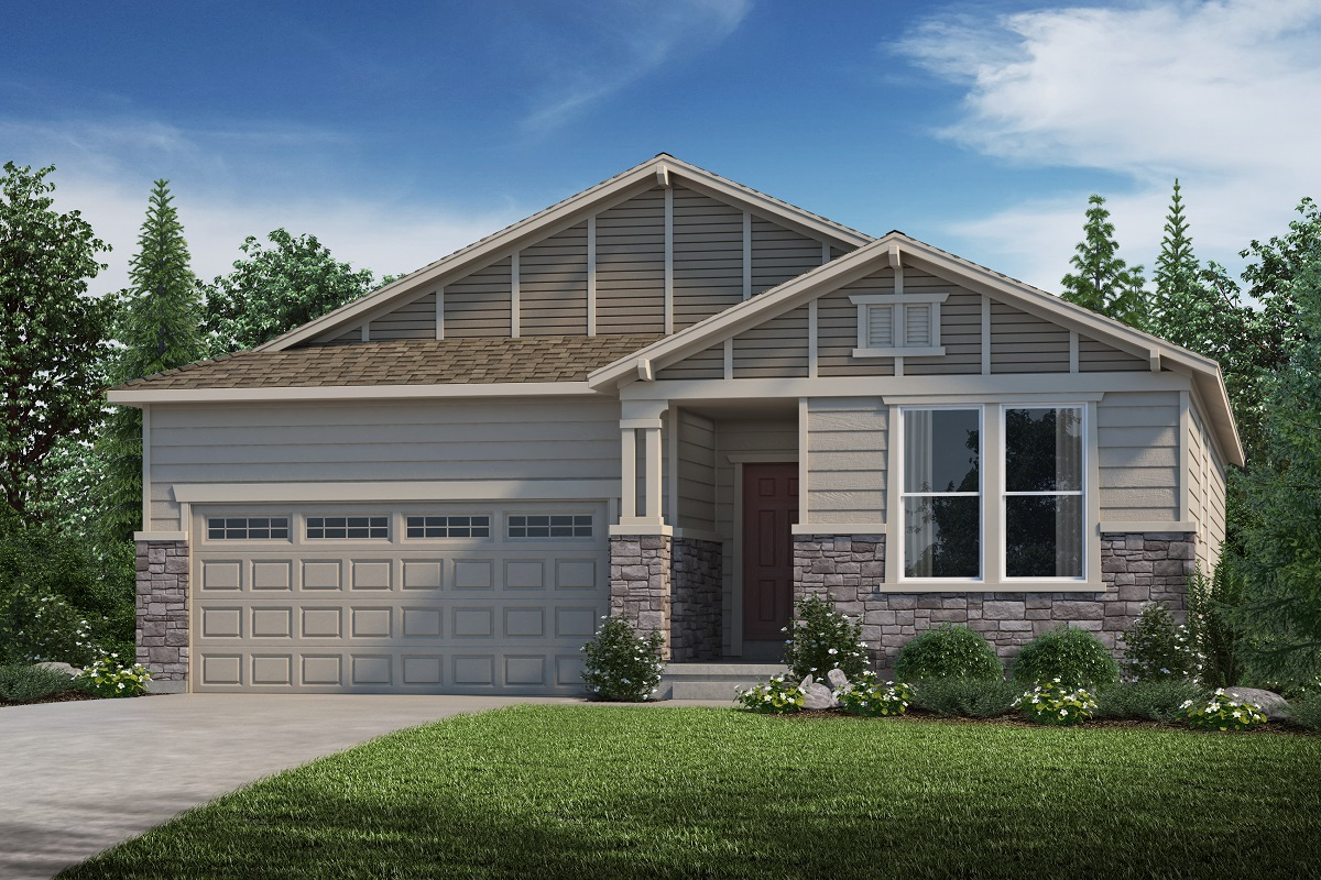 New Homes in Parker, CO - Plan 1747 Elevation B