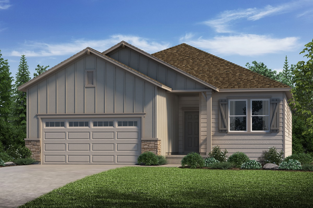 New Homes in Parker, CO - Plan 1818 Elevation A