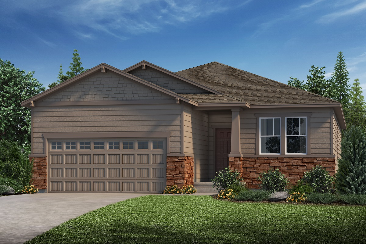 New Homes in Parker, CO - Plan 1818 Elevation C