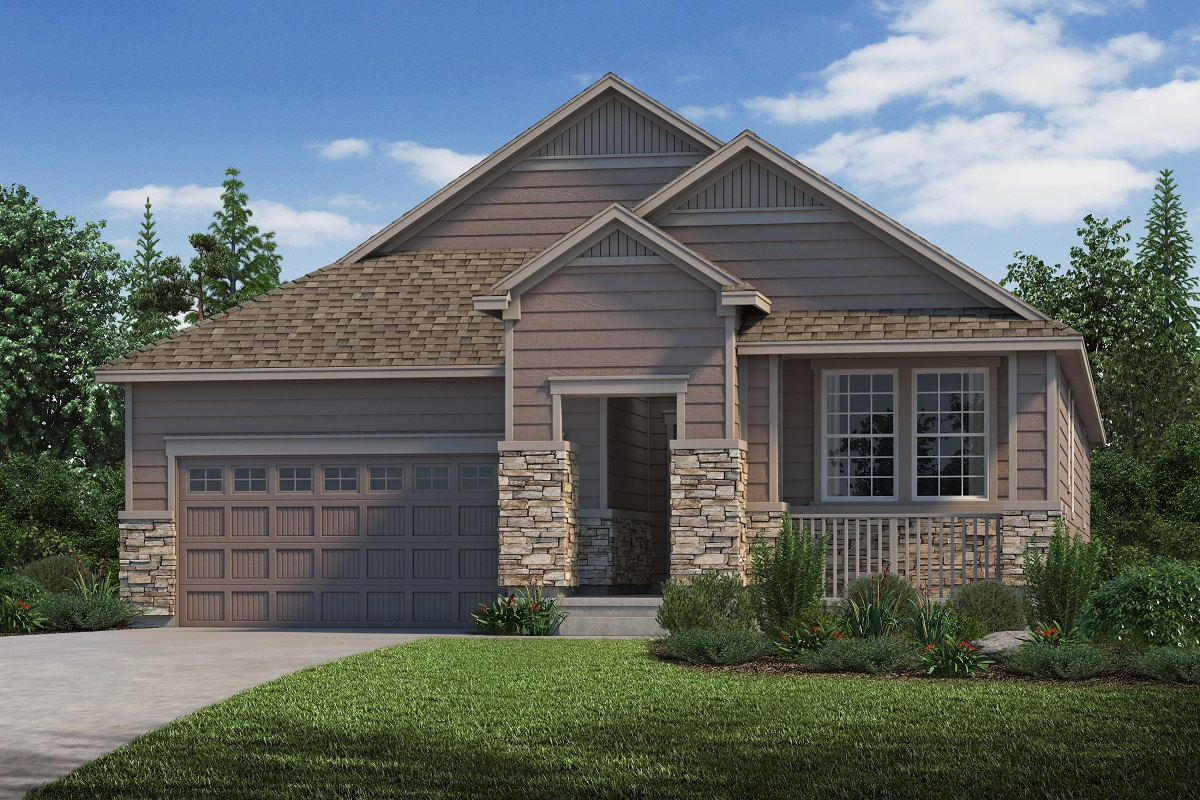 New Homes in Parker, CO - Plan 1942 Elevation C