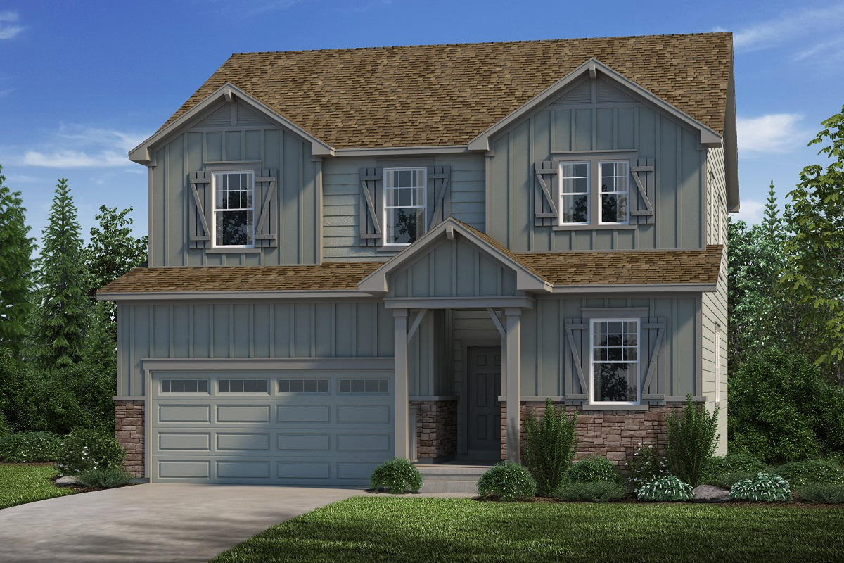 New Homes in Parker, CO - Loveland - Elevation A