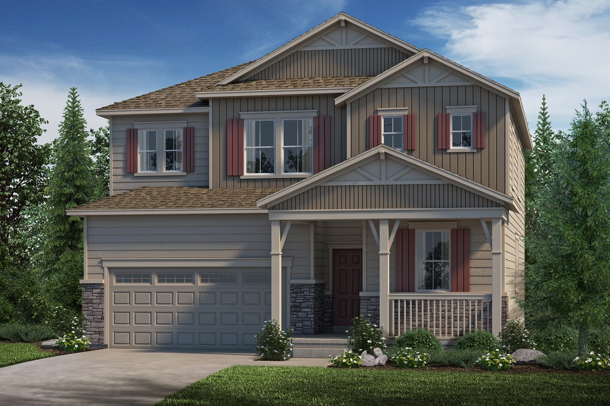 New Homes in Parker, CO - Stone Creek Ranch Loveland - Elevation B