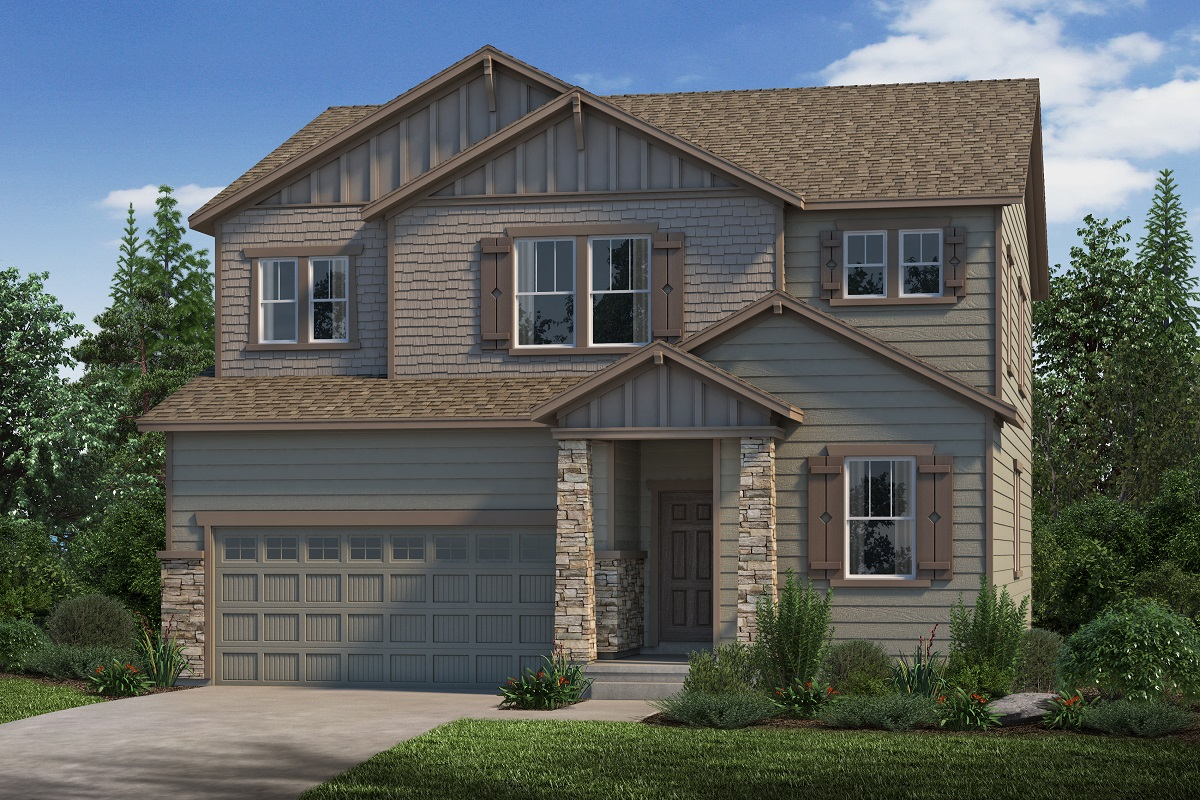 New Homes in Parker, CO - Plan 2651 Elevation C