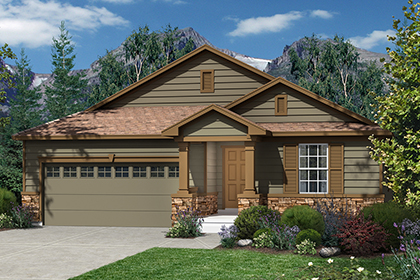 New Homes in Dacono, CO - Plan 1565 Elevation A