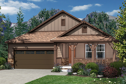 New Homes in Dacono, CO - Plan 1565 Elevation B