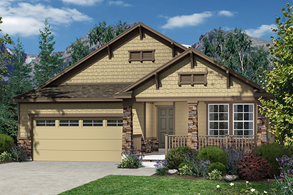 New Homes in Dacono, CO - Plan 1565 Elevation C