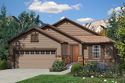 New Homes in Dacono, CO - Plan 1776 Elevation A