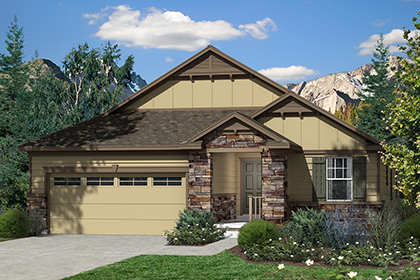 New Homes in Dacono, CO - Plan 1776 Elevaton B