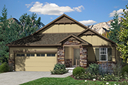 New Homes in Dacono, CO - Sweetgrass Plan 1776 Elevation B