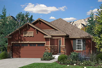 New Homes in Dacono, CO - Plan 1776 Elevation C