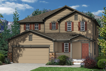 New Homes in Dacono, CO - Plan 2335 Elevation A