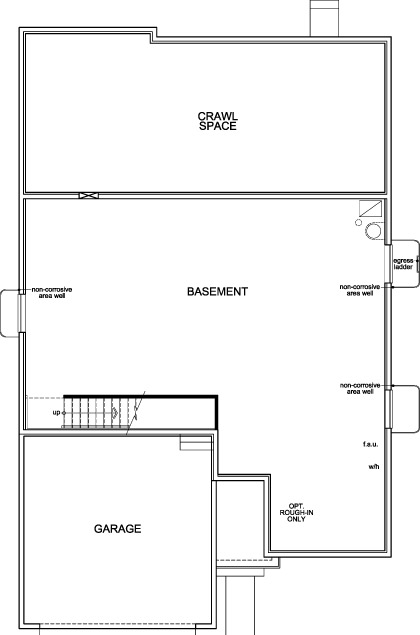 New Homes in Dacono, CO - Plan 1776, Basement